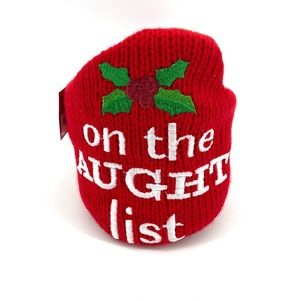 On the Naughty List Drink Coozie